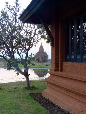 Bagan, Myanmar–Aureum Palace, Our Villa And Pagoda