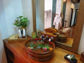 Inle Lake, Myanmar–Bathroom At The Aureum Palace Resort