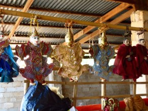 Inle Lake, Myanmar–Puppets At Shopping Arcade