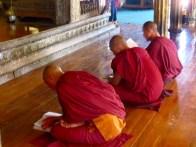 Myanmar–Nga Phe Chaung Monastery–Monks Studying