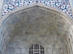 Taj Mahal–Facade Detail