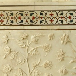 Taj Mahal–Inlay And Carvings