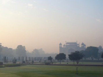 Taj Mahal–lovely Grounds