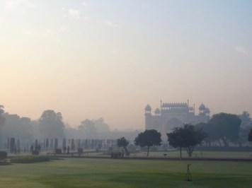 Taj Mahal–lovely Grounds