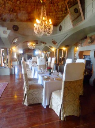 Tanzania–Ngorongoro Crater Lodge Dining Room