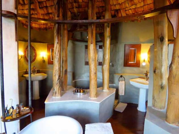 Tanzania–Ngorongoro Crater Lodge Our Bathroom, Continued