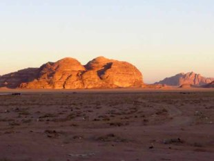 Jordanian Landscape–Wadi Rum