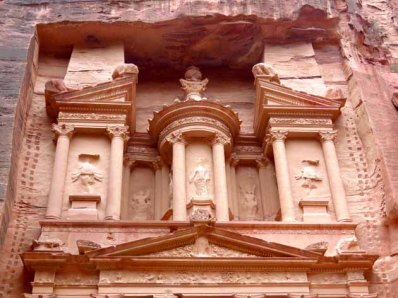 Petra–How Treasury Was Carved