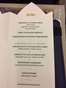 Dinner menu #2