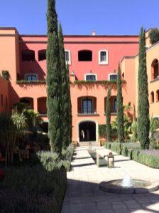 Inner courtyard, Rosewood Hotel, San Miguel de Allende