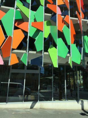 Melbourne–Contemporary façade