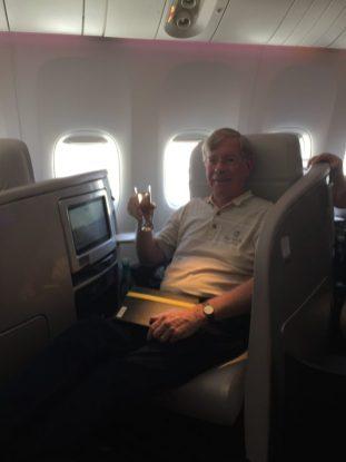 Air New Zealand–so comfortable!
