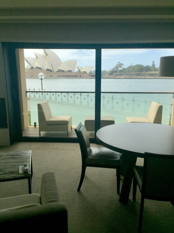 Park Hyatt, Sydney–room with a (great) view