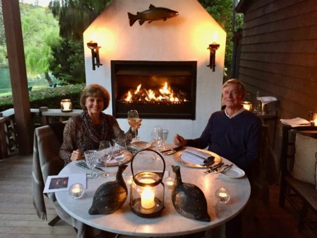 Huka Lodge–Romantic Dinner
