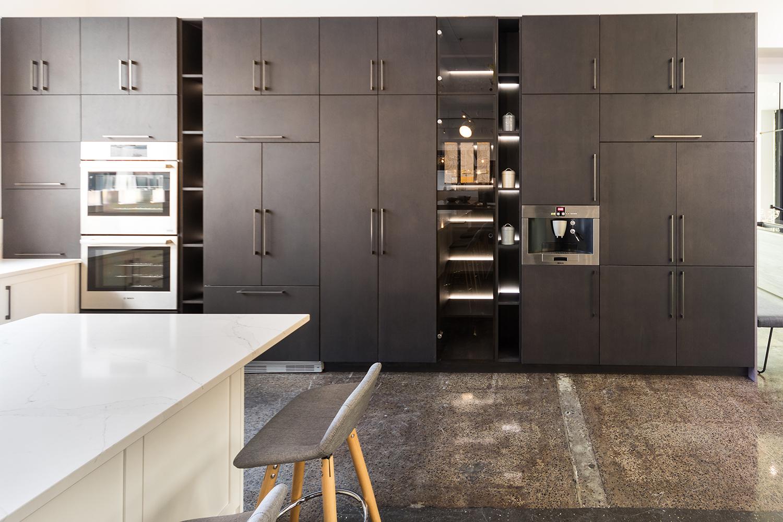 the modern style kitchen cuisines verdun