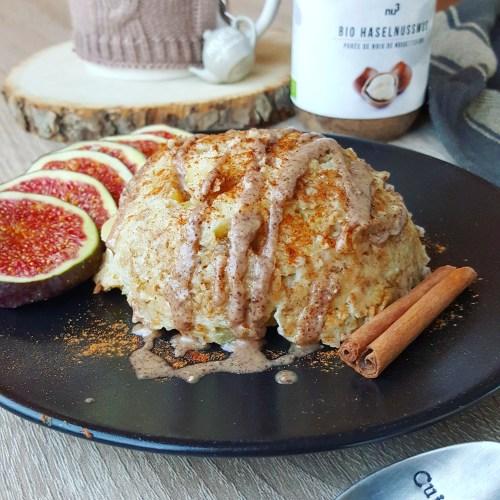 Bowlcake pomme, cannelle et raisins secs