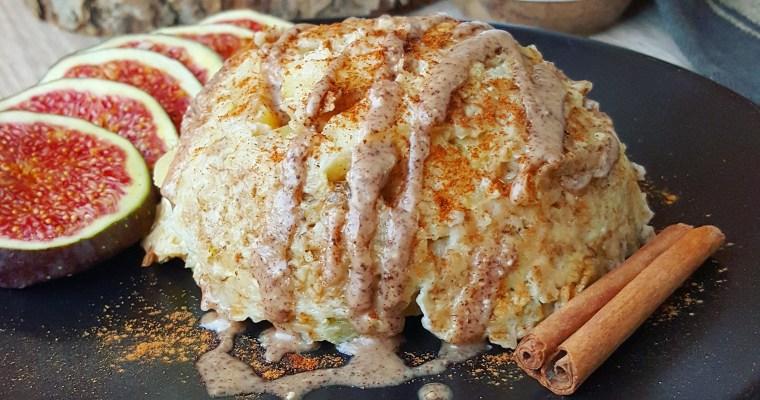 Bowlcake à la pomme, raisins secs & cannelle
