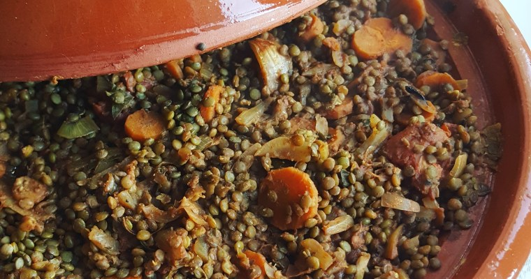 Lentilles à la marocaine