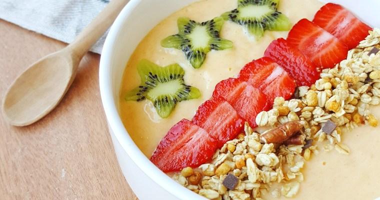 Smoothie bowl melon & mangue