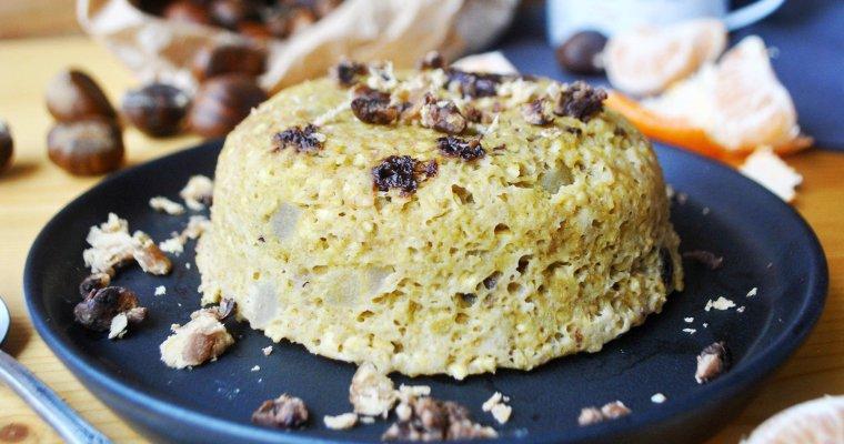 Bowlcake à la châtaigne et au chocolat