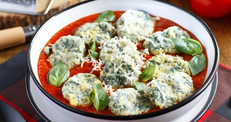 Gnocchis au fromage et aux blettes