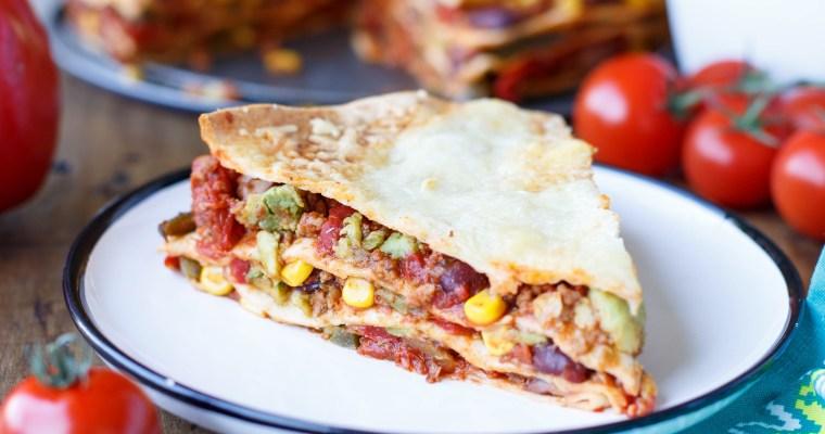 Lasagnes mexicaines aux tortillas