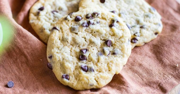 Cookies à l'huile et aux pépites de chocolat