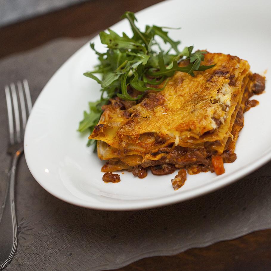 de lekkerste lasagne bolognese
