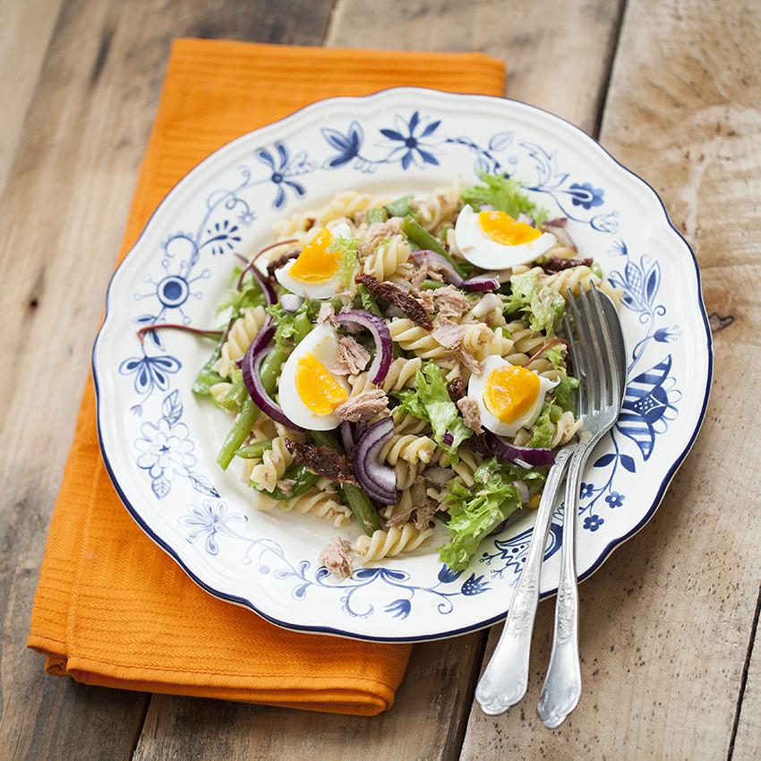 Pasta salade tonijn