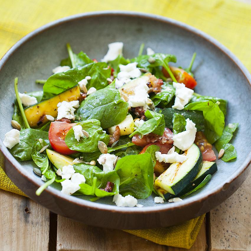 Salade spinazie