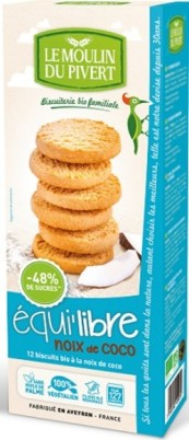 Biscuits véganes coco
