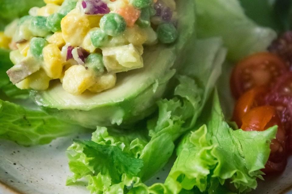 palta rellena vegan avocat farci cuisine végane pour débutant recette vegan facile