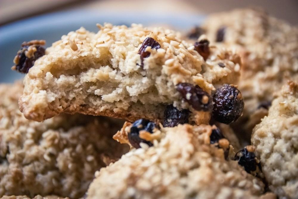 cookies véganes croustillant et moelleux
