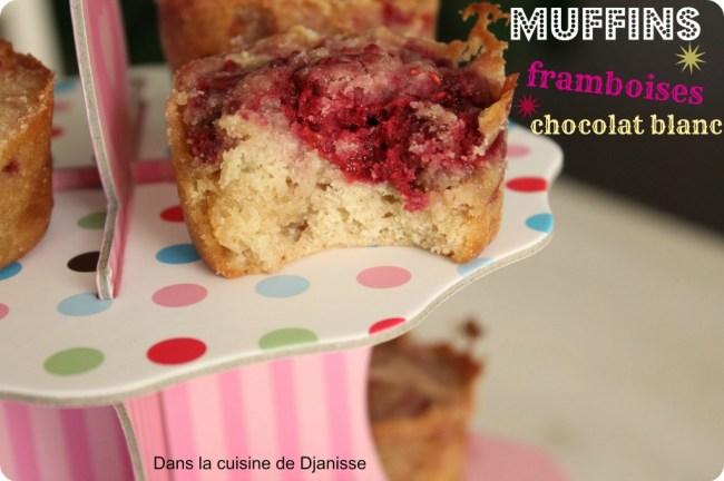 muffins framboises choco