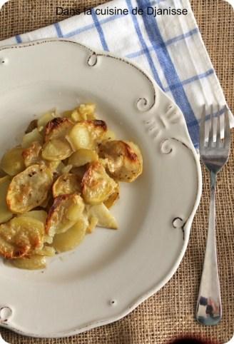 Gratin de pommes de terre et panais