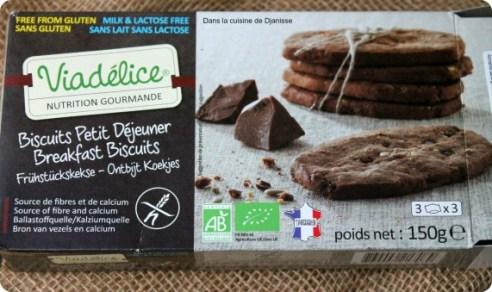 Biscuits Viadélice (sans gluten, sans lactose)