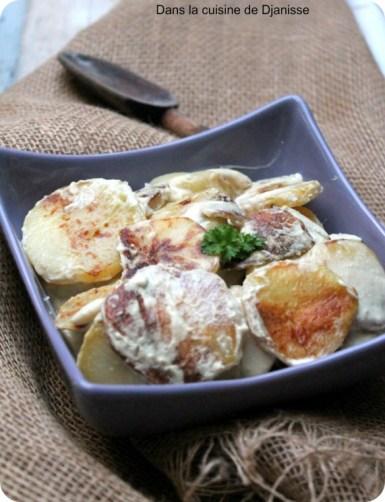 Pommes de terre à la dijonaise