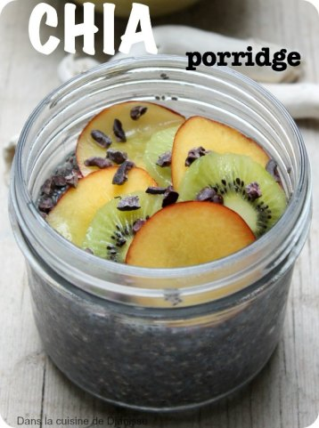 Pudding de graines de chia