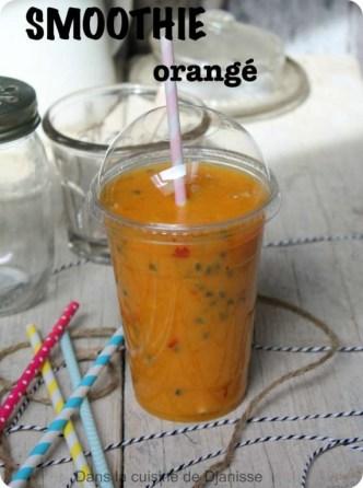 Mango, apricot and passio fruit smoothie {vegan rax & gluten free}