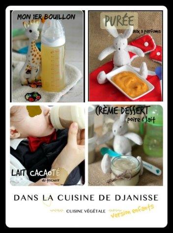 Collage Cuisine Végétalienne de Djanisse version enfants