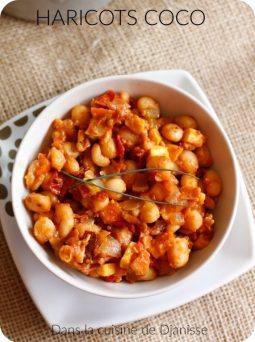 Recette végane : haricots coco tomate et curry