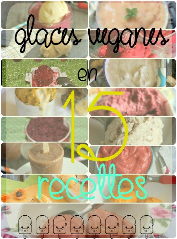 15 recettes de glaces véganes