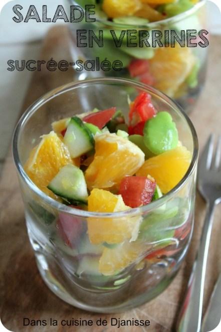 salade en verrine