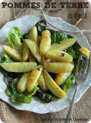 pommes de terre sautées à l'ail