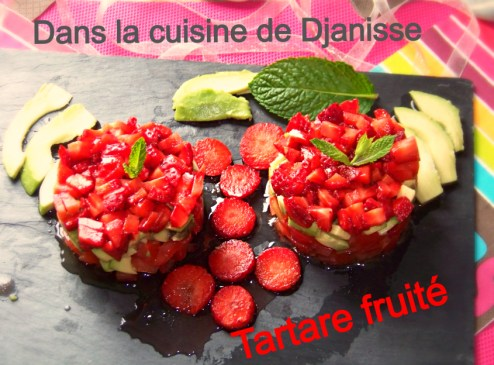 Tartare de fruits d'été