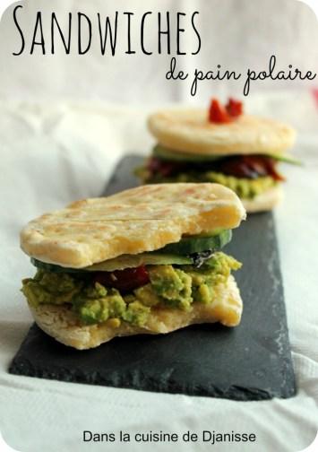 Sandwich de pain polaire