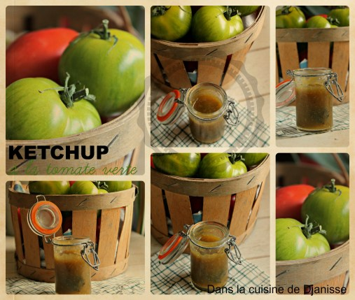 ketchup de tomates vertes