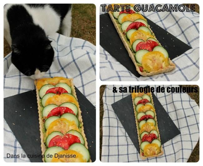tarte guacamole