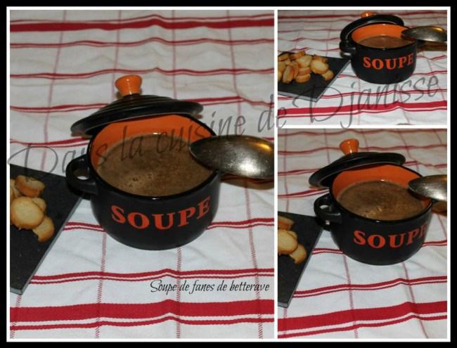 Soupe aux fanes de betterave