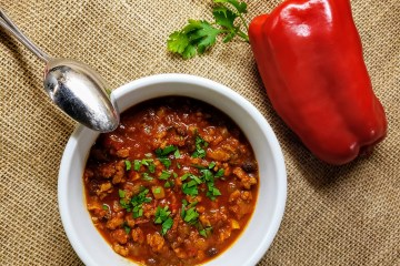 Turkey black bean chili